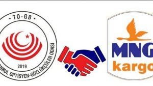 I. Bölge İstanbul Optisyen-Gözlükçüler Odası ve MNG Kargo İş Birliği