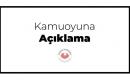 TO-GB 'den Kamuoyuna Duyuru
