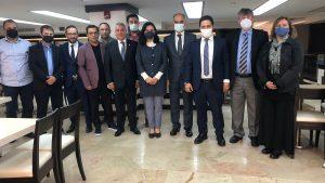 Oda Yöneticilerimiz İstanbul Milletvekili ile Bir araya geldi